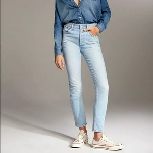 Aritzia Denim Forum Yoko High Waist Skinny Jean
